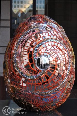 Golden Cosmic Egg -