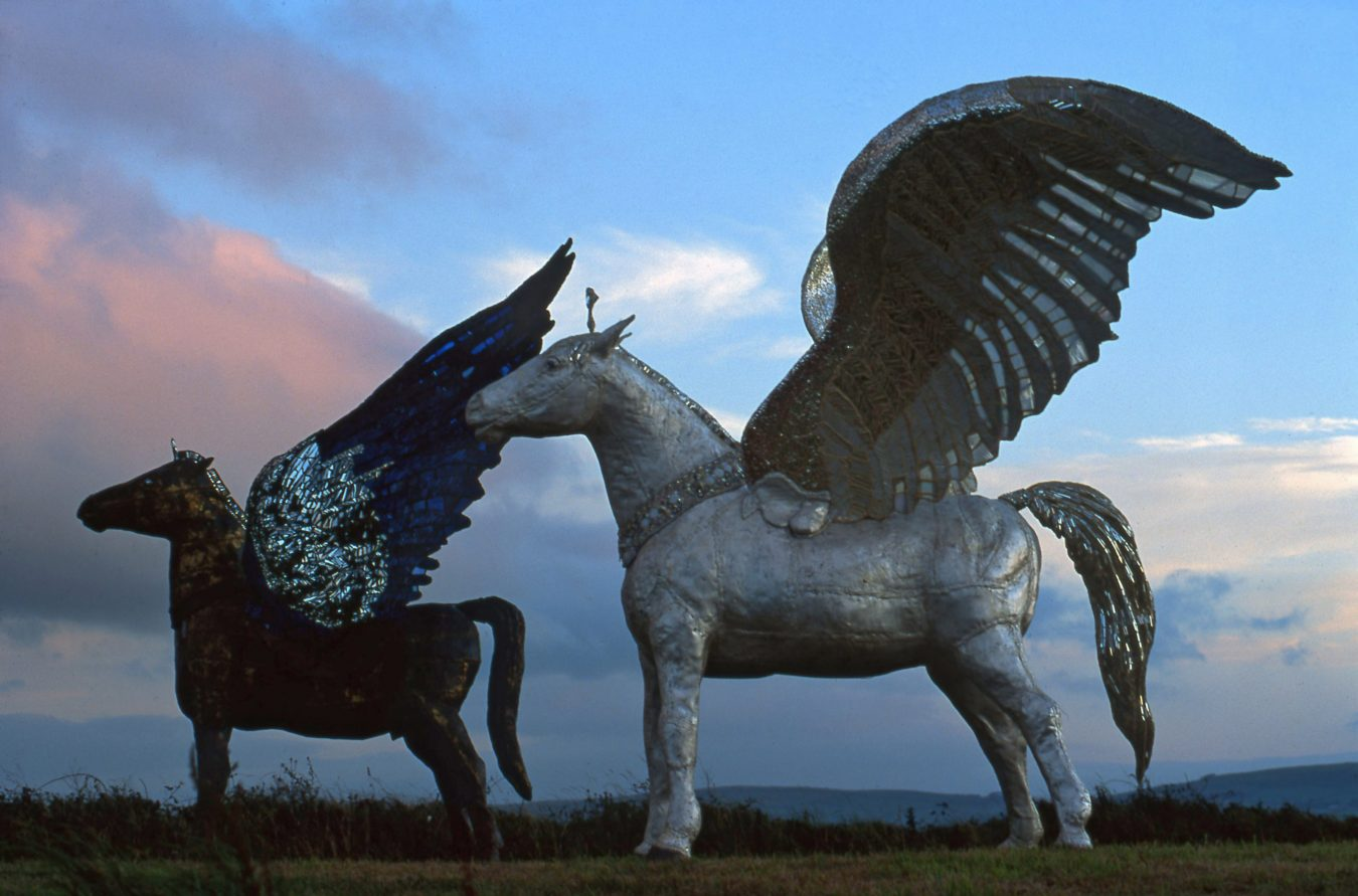 Pegasus at Beachy Head -