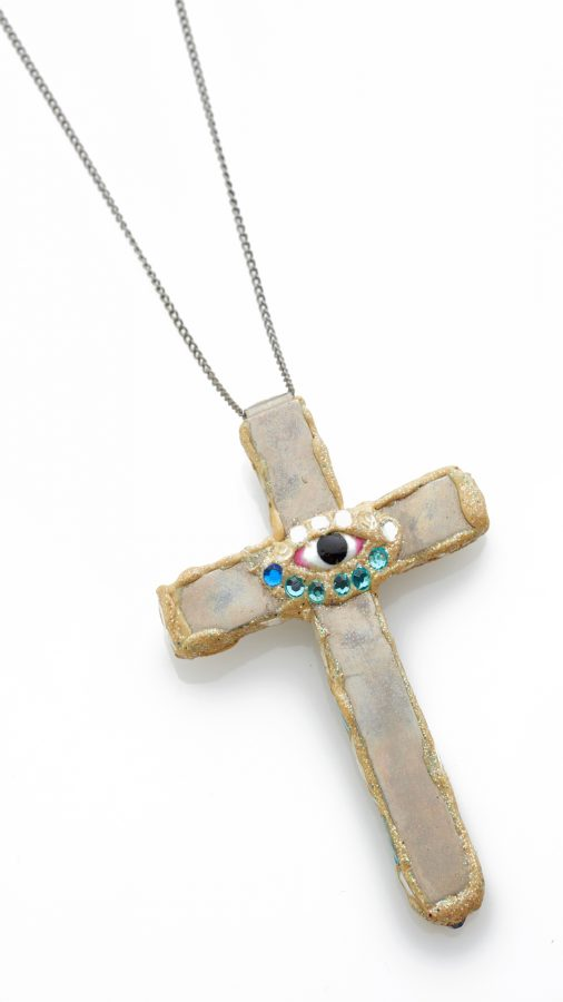 Cross Eye Necklace -